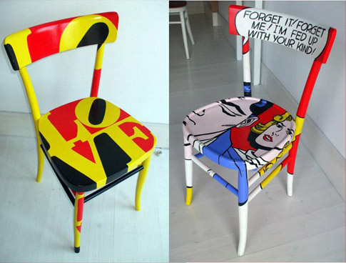 Arredamento Pop Art Milano : Mobili pop art andy warhol pop art roy lichtenstein